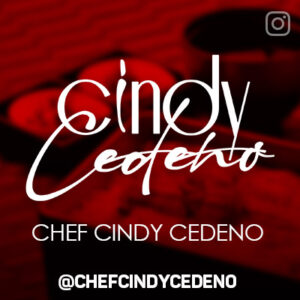 Banner Chef Cindy Cedeno