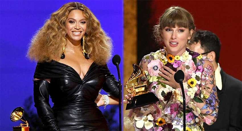 Nota Taylor y Beyonce