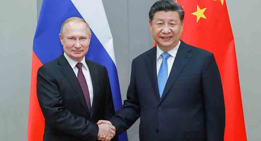 China promete cooperar con Rusia en medio del endurecimiento de sanciones occidentales